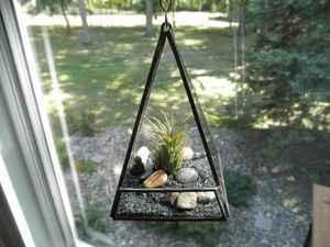Glass terrarium by SandhillShores $22