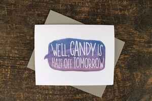Card for friend or sweeite by WenonahPaperCo $3.25
