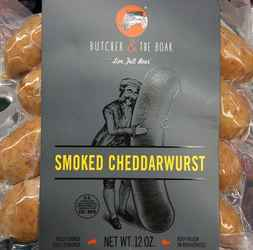 Butcher & the Boar sausage varieties available at Lunds & Byerly's $9
